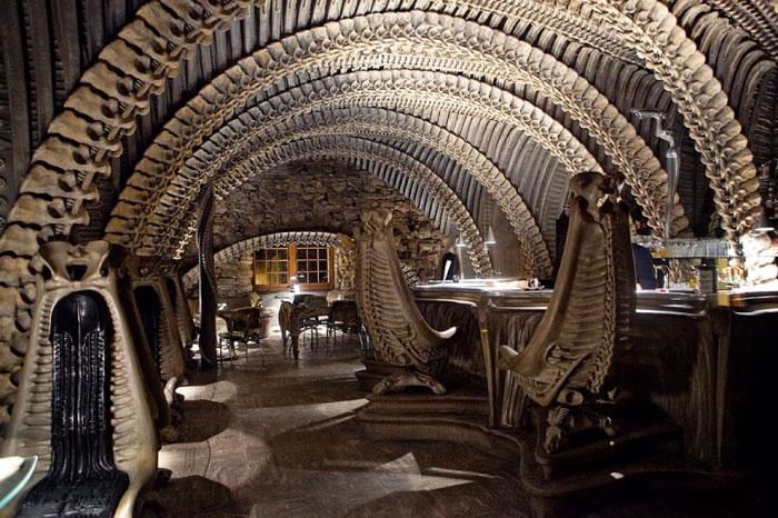 Giger-Museum-Bar_Gruyères,Switzerland