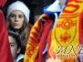 navijačice na  utakmici Crna Gora - Rusija