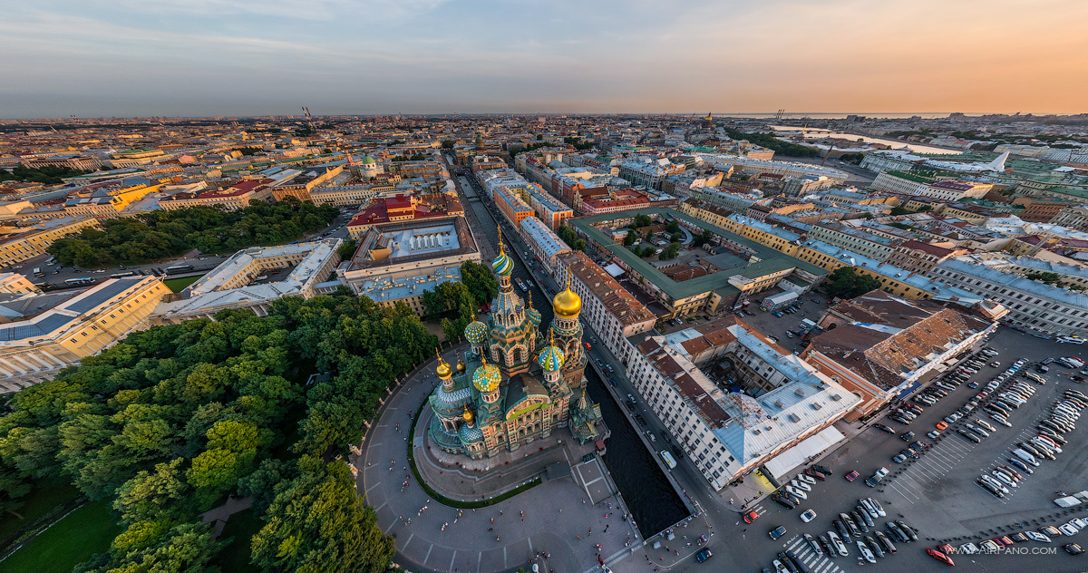 St. Petersburg - Above the Church of the Savior on Blood #1