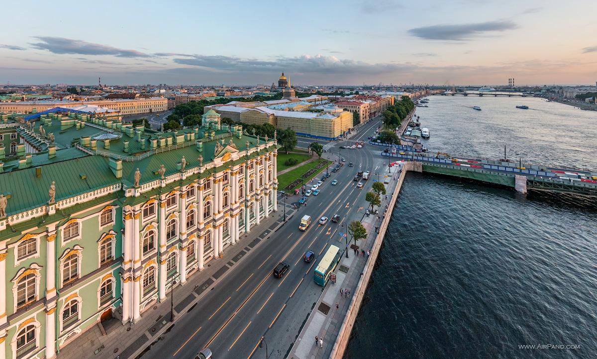 St. Petersburg - Palace Embankment, Winter Palace