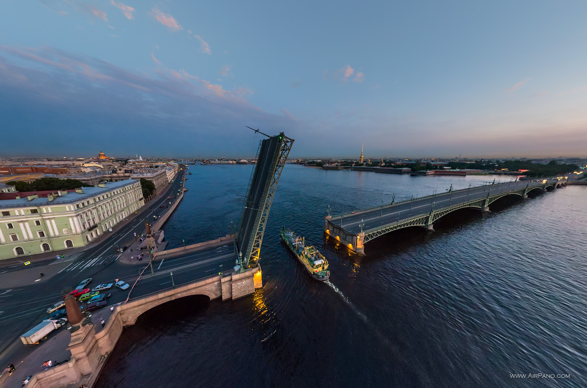 St. Petersburg - Trinity Bridge