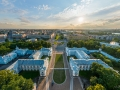 St. Petersburg - Above the Smolny Convent