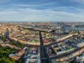 St. Petersburg - Bird&'s eye view of Kazan Cathedral