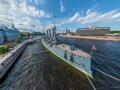 St. Petersburg - Russian cruiser Aurora