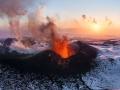 Ploskiy Tolbachik volcano eruption
