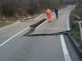 AKTUELNO: Prekid saobraćaja na putu Cetinje-Budva