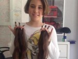 HUMANA AKCIJA: Jovana donirala kosu  vršnjacima koji su je izgubili