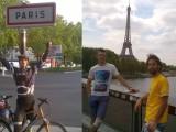 AKTUELNO: Podgoričanin i Baranin stigli biciklima u Pariz