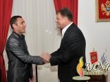 PODGORICA: Gradonačelnik primio Predraga Radoševića
