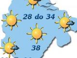 VRIJEME: Sunčano, temperatura do 38 stepeni