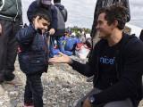 MAKEDONIJA: Orlando Blum u Đevđeliji razgovarao sa izbjeglicama (foto)