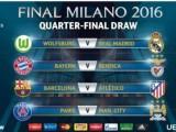 ŽRIJEB LIGE ŠAMPIONA: Volfzburg-Real, Bajern-Benfika, Barselona-Atletiko i PSŽ-Mančester siti u četvrtfinalu