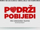 """VEČERAS PRVI CRNOGORSKI TELETON: ,,Podrži, pobijedi"""" za pomoć djeci oboljeloj od karcinoma"""