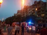 PODGORICA: Požar u zgradi Vampirica, evakuisano šest stanova