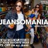 VIKEND JEANSOMANIA U PRODAVNICAMA FASHION COMPANY: Od 20. do 22. oktobra 20 odsto popusta na džins