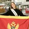 BEOGRAD: Miss Crne Gore Tea Babić otputovala u Kinu