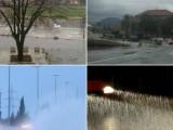 NEVRIJEME: Nestanak struje i poplave na Cetinju i u Baru, odron na putu Nikšić-Šavnik