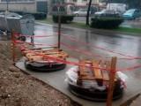 PODGORICA: Počela montaža 17 podzemnih kontejnera na više lokacija