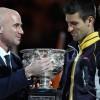 ANDRE AGASI: Novak igra najbolji tenis, Federer uradio najviše