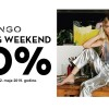 MANGO SHOPPING WEEKEND: Uz 20 odsto popusta na cjelokupan asortiman