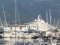 TIVAT: Aazam, najveća jahta na svijetu uplovila u marinu Porto Montenegro