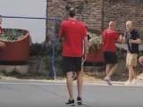 """BEOGRAD: Košarkaši iznenadili """"komšiju Paspalja"""" (VIDEO)"""