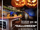 "CAFFE BAR GALERIJA: Večeras ,,Halloween party"""