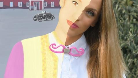 MILENA ĐUKANOVIĆ: 3D leptir mašne kroz modni dizajn prenose važne crnogorske priče