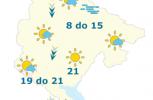 METEO: Najviša dnevna temperatura vazduha do 21 stepen