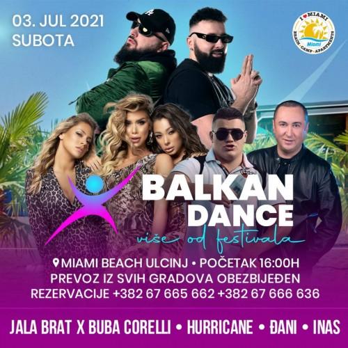 MNE MAGAZIN NAGRAĐUJE: Osvojite ulaznicu za Balkan Dance, muzički spektakl u Ulcinju