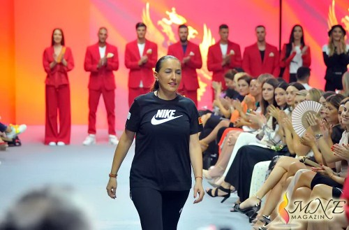 MFW: Marina Banović closes the event with a collection made for Montenegrin olympic team