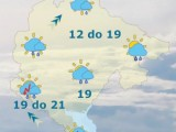 METEO: Na jugu i u centralnim predjelima kiša, do 22 stepena