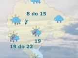 METEO: Kiša, na sjeveru snijeg, temperatura do 22 stepena