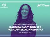 OK BUDVA: Prijavite se za besplatnu online radionicu i pronađite posao preko LinkedIn-a