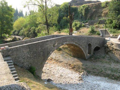 Podgorica, stari turski most, Skaline